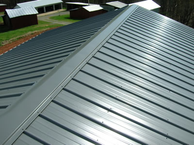 Durable, beautiful and long lasting metal roofs. Full installation and maintenance
