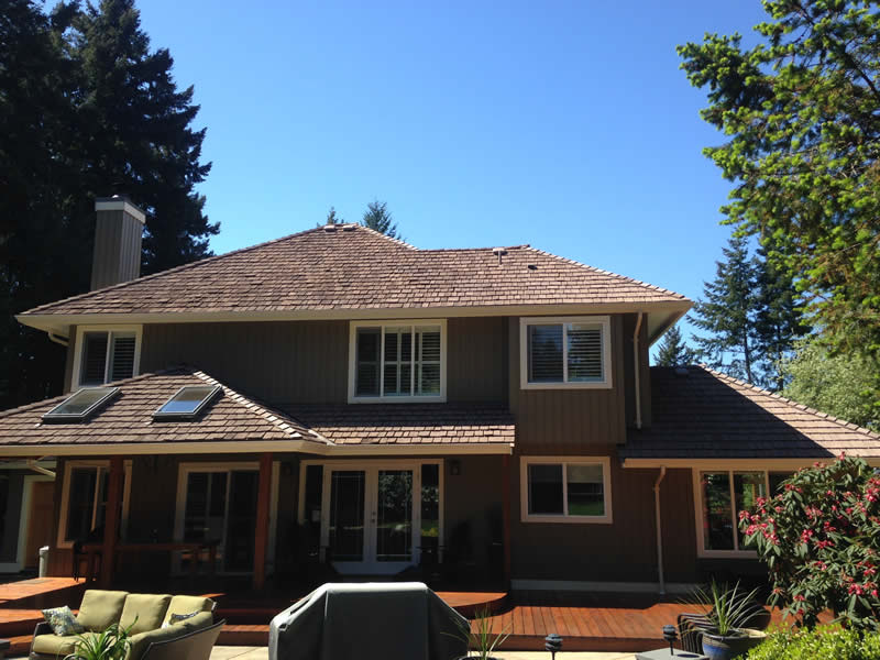 After treatment, adding years to the roof and saving thousands of dollars